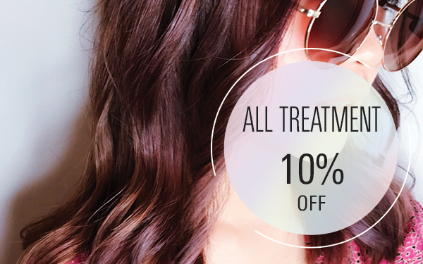 All Treatment 10% [ For New Customer only ]
