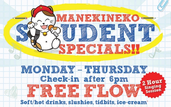 *SCAPE/ CINELEISURE Student Special (after 6pm)