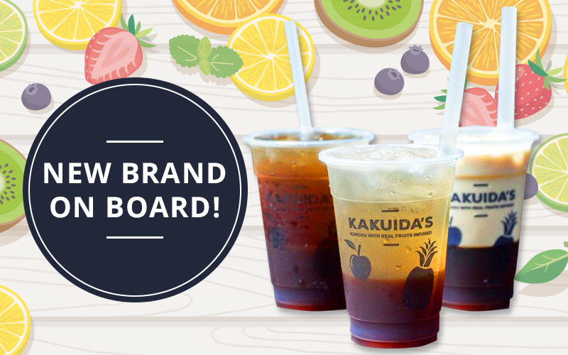 New on board with J Passport! Kakuida's - Perfect Drink for Singapore weather!