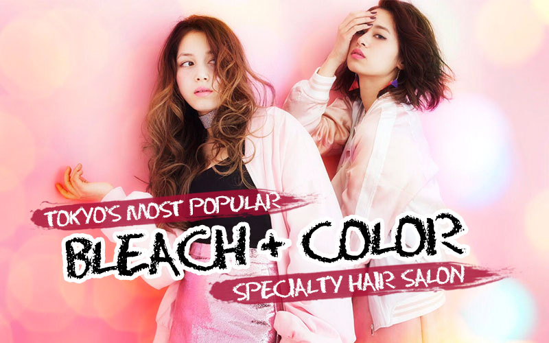 Tokyo's Most Popular BLEACH + COLOR Hair Salon is now in Singapore!