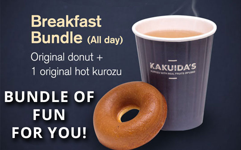 Kakuida's - Perfect Drink for Singapore weather! Enjoy their bundle this month!