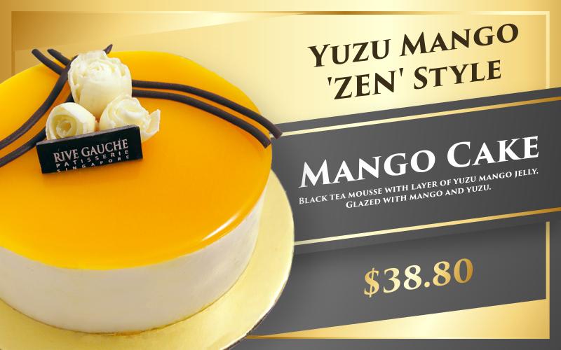 Yuzu mango 'Zen' style $38.80 (size 5)