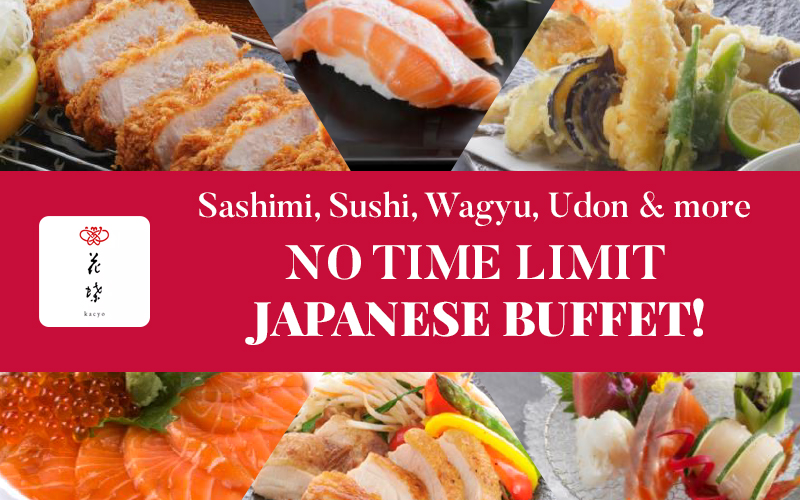 No Time Limit, A la carte Buffet from $39.80++!