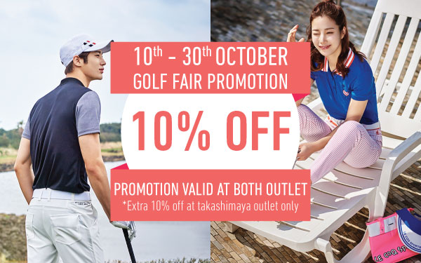 Golf Fair: 10% OFF for Regular Priced Items!