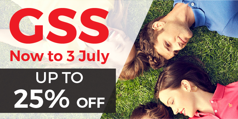 GSS at Descente: Up to 25% OFF Regular Priced Apparels!