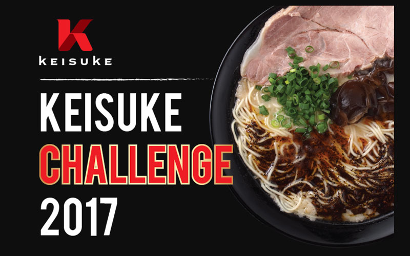 KEISUKE CHALLENGE 2017: Become a VIP and enjoy exclusive privileges!