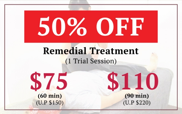 Remedial Treatment 50% OFF