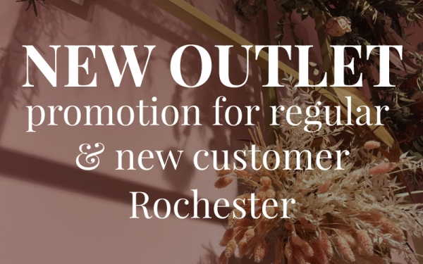 Up to 25% OFF for Regular & New customer! (*Valid at Rochester only)