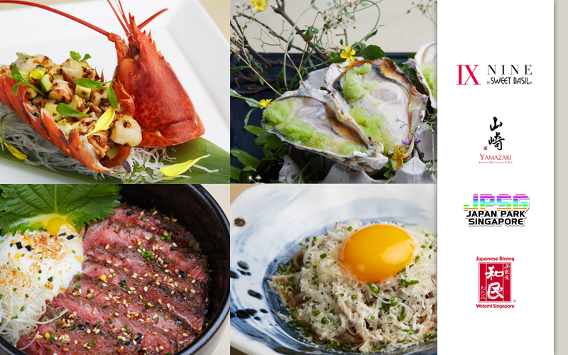 National Day Special Course , New Organic Sweet Potato , Shabu Shabu Buffet Promotion and many more!