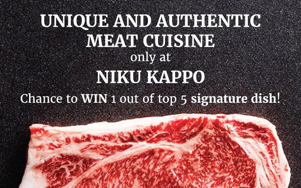 WIN a FREE DISH from NIKU KAPPO!