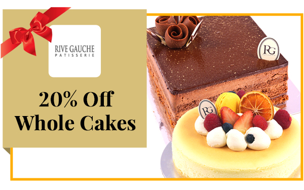 20% OFF Birthday Cakes for Birthday Members
