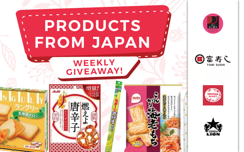 Free Japanese Snack Giveaway, 50% Off Unagi Meal, 1-for-1 Ice-cream and many more!