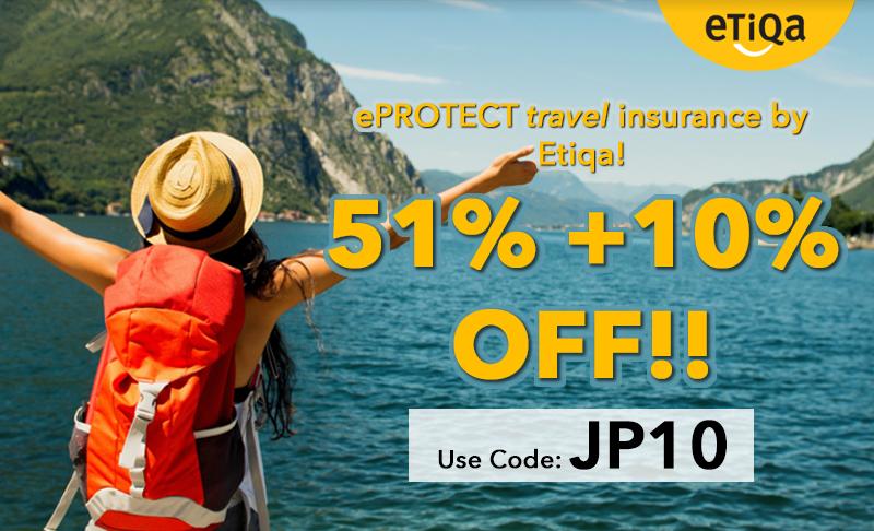 Enjoy 51% + 10% Off when you travel!