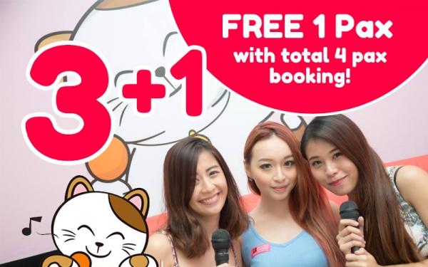 BIRTHDAY PROMO: Buy 3 Get 1 Free