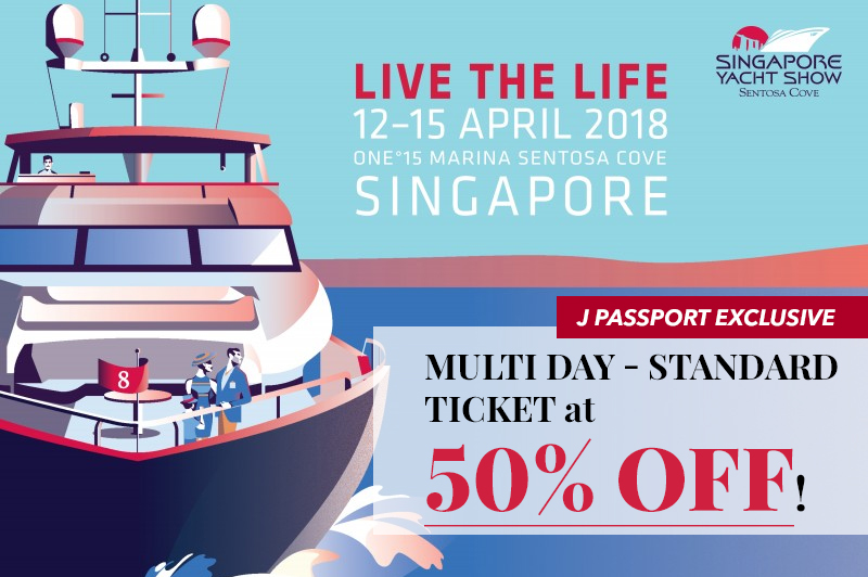Exclusive for J Passport Members - 50% Off Multi-day Standard Pass!