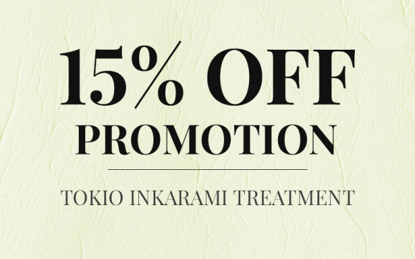 15% OFF Tokio Inkarami Treatment