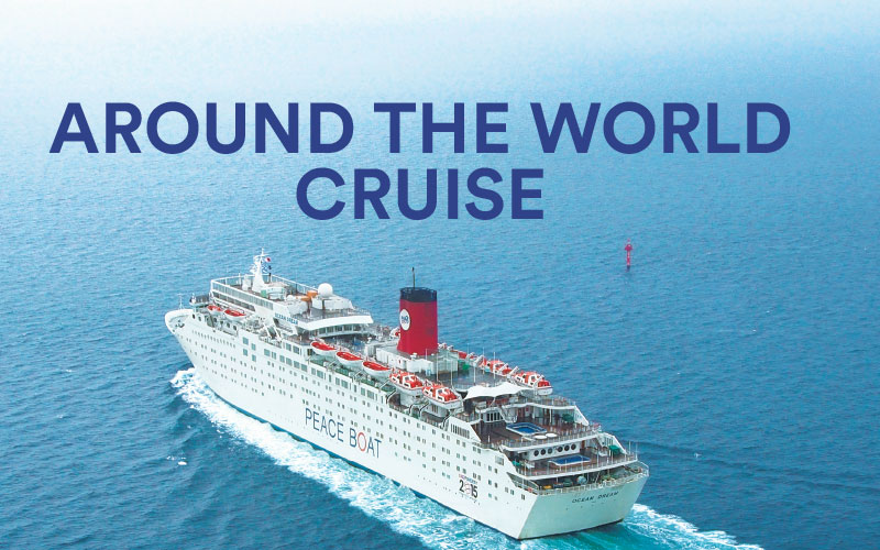 Travel around the world in an exciting and life-changing cruise!