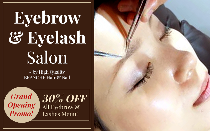 First in Singapore - Japanese Eyebrow Extension Salon!