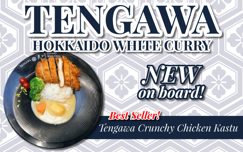 New in Board! Tengawa Hokkaido White Curry - Have you tried White Curry before?