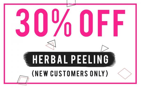[New Customers Only] 30% Off popular Herbal Peel or Artmake