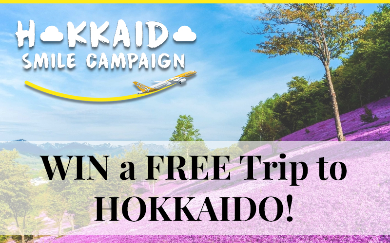Hokkaido SMILE Campaign is back! Win a FREE TICKET to Hokkaido!