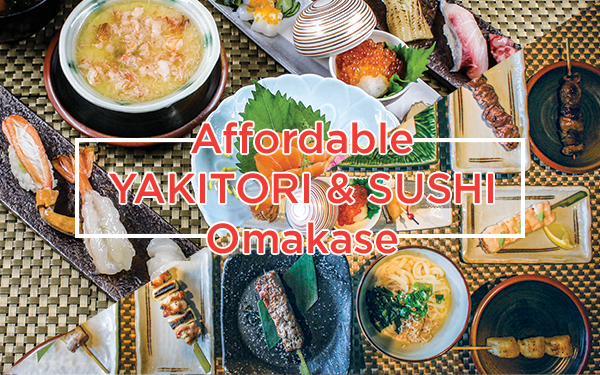 Affordable Omakase with Brilliant View!