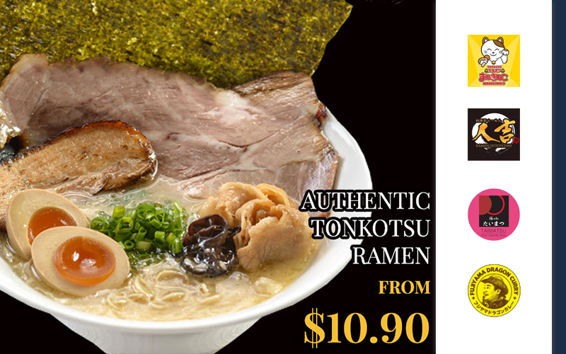 New Tonkotsu Ramen Restaurant in J Passport, 2x Curry Big Eater Contest, Low and Affordable Japanese Karaoke and many more!
