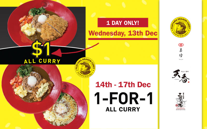 $1 Japanese Curry, Maguro Mountain, and more!